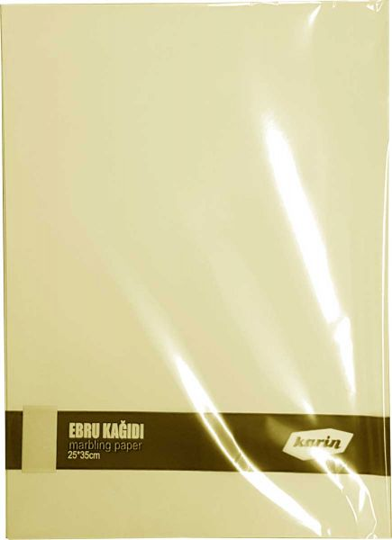Ahsen Marmor Papier 25x35cm (Chamois 70g/m² - 100 Blatt)