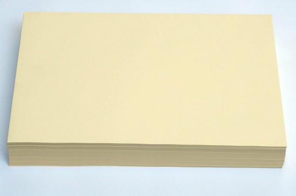 A3 Hellchamois - Creme- Ebru Papier (80g/m² - 500 Blatt)