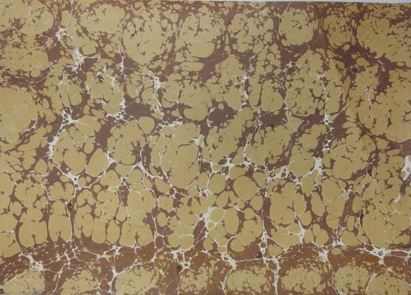 t57 Handmarmorpapier, Buchbinderpapier