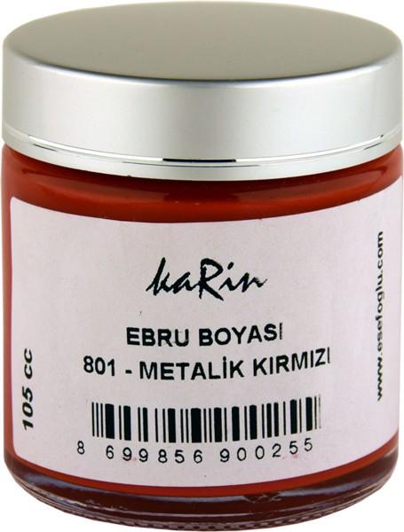 Marmorierfarbe 801 Metallic Rot
