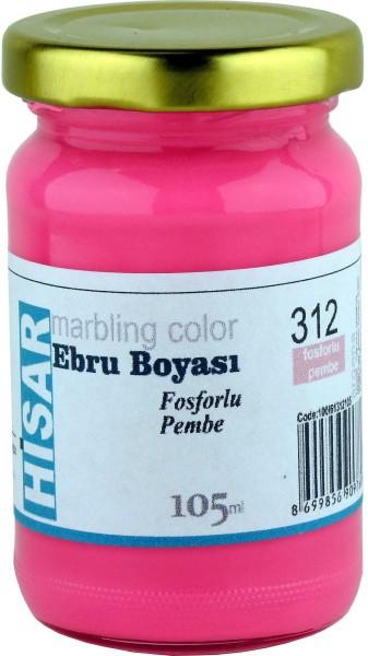 Marmorierfarbe 312 Phosphoreszierendes Pink