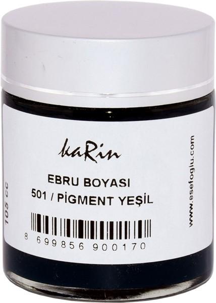 Marmorierfarbe 501 Pigment Grün