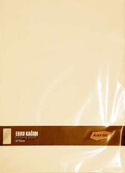 Ahsen Marmor Papier 35x50cm (Chamois 70g/m² - 100 Blatt)