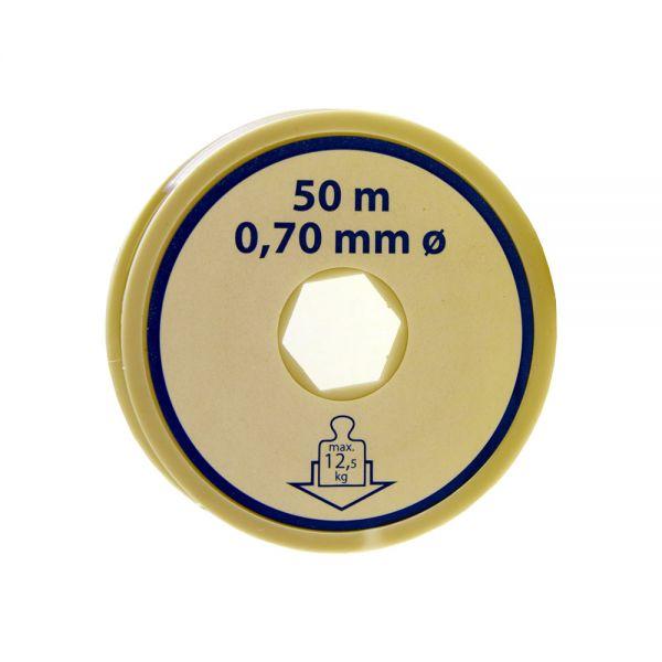 Nylonfaden (50 m, 0,7 mm)