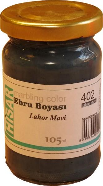 Marmorierfarbe 402-Lahor Blau