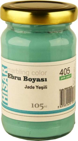 Marmorierfarbe 405  Jadegrün