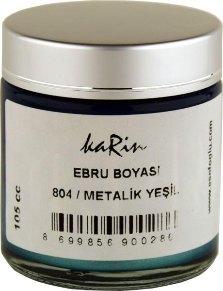 Marmorierfarbe 804 Metallic Grün