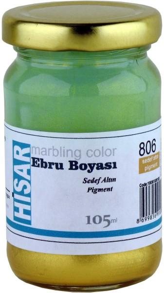 Marmorierfarbe 806 Perlgold-Pigment