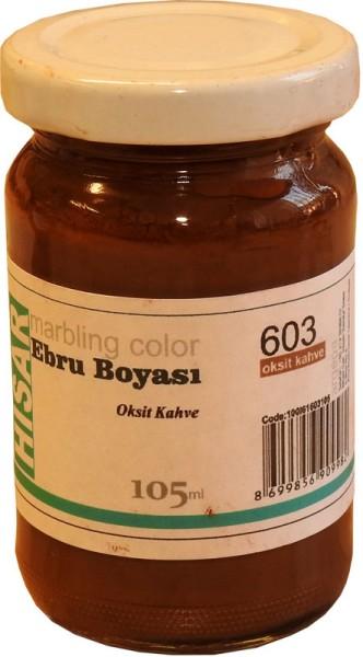 Marmorierfarbe 603-Oxid Braun