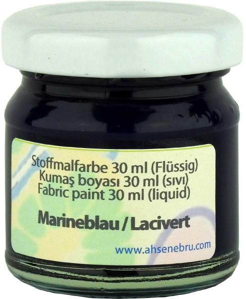 Stoffmalfarbe - Marineblau 30 ml