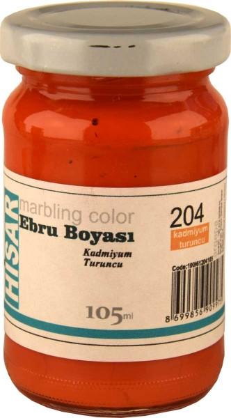 Marmorierfarbe 204 Cadmiumorange