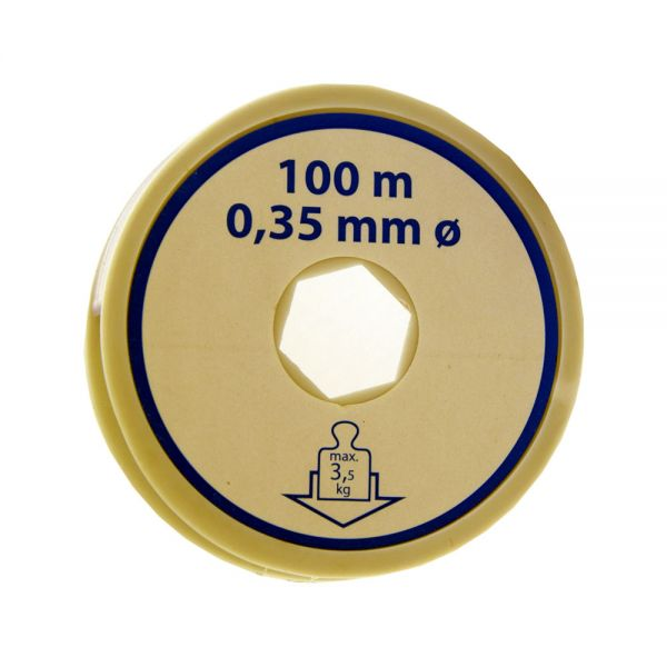 Nylonfaden (100 m, 0,35 mm)