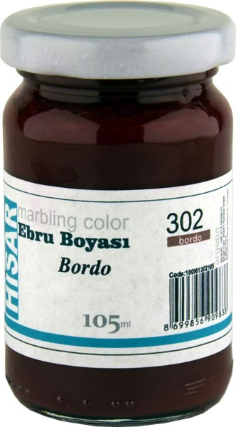Marmorierfarbe 302 Bordeaux Rot