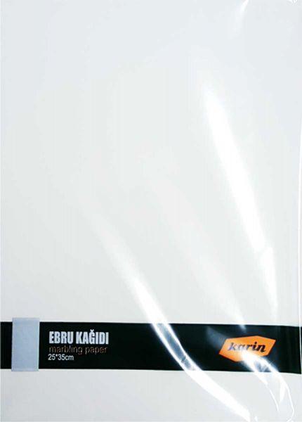 Ahsen Marmor Papier 25x35cm (Weiß 90g/m² - 100 Blatt)
