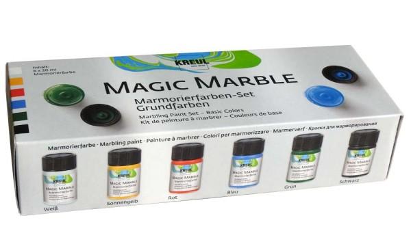 C.Kreul Magic Marble (Grundfarben) Marmorierfarben-Set