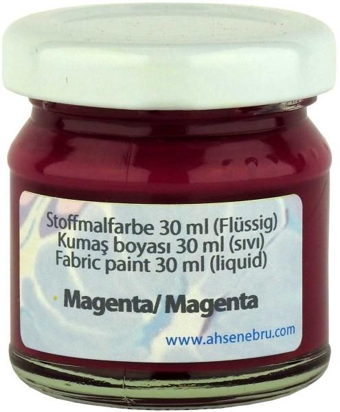 Stoffmalfarbe - Magenta 30 ml